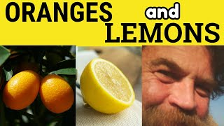 Oranges and Lemons - Traditional British Song Rhyme Game - ESL British English Pronunciation