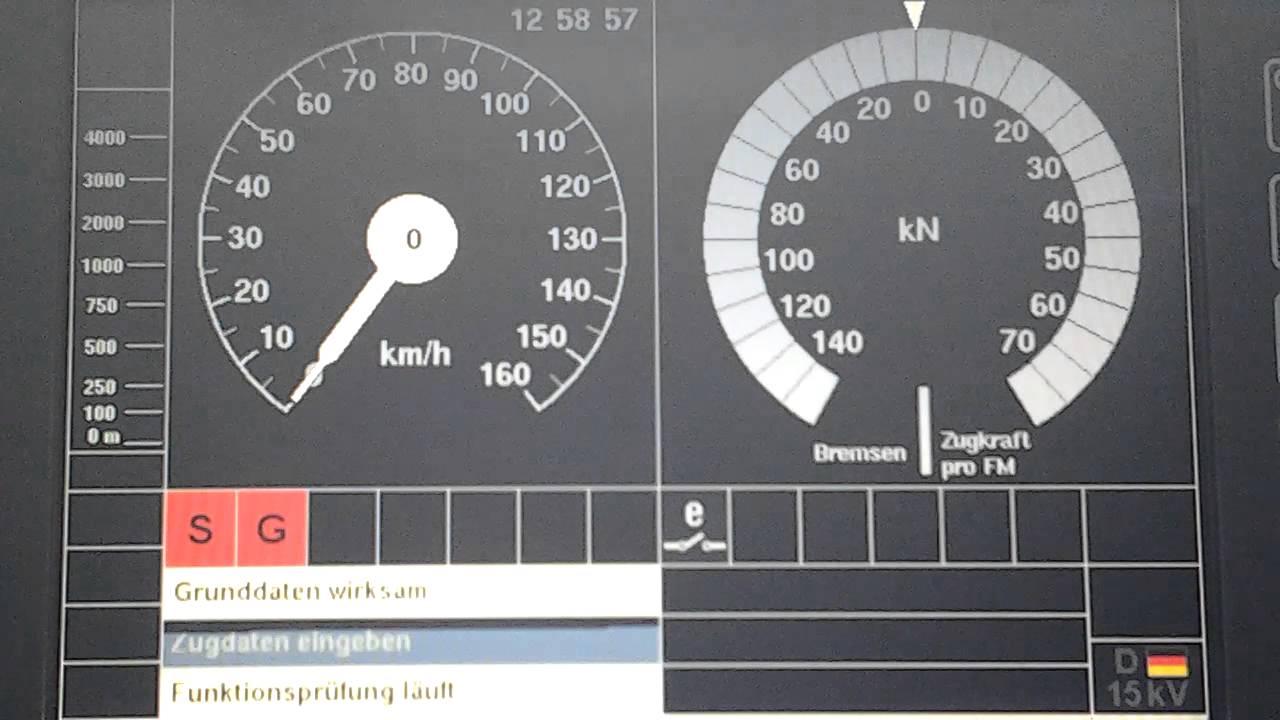 PZB / LZB / SIFA Funktionsprüf...