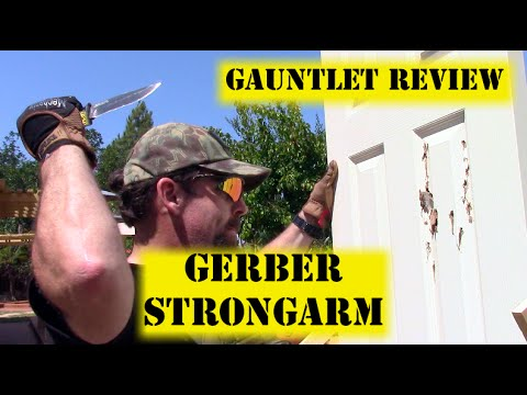 Gerber StrongArm – Gauntlet Knife Review #4