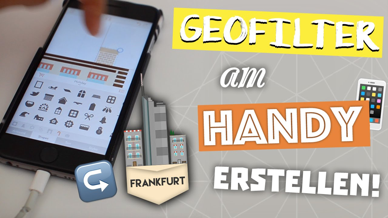 Snapchat geofilter fur eure stadt am handy erstellen youtube for How to make a free snapchat geofilter