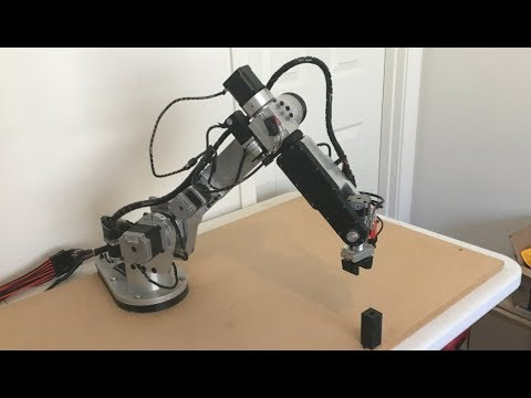 AR2 6 axis stepper motor robot