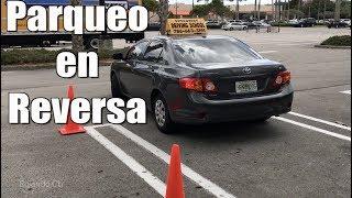COMO ESTACIONAR UN AUTO EN REVERSA CORRECTAMENTE/PARQUEO EN RETROCESO