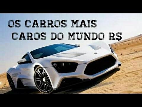d0a646b7a92 OS 10 CARROS MAIS CAROS DO MUNDO - ATUALIZADO (TOP SOUNDS) Top Carros