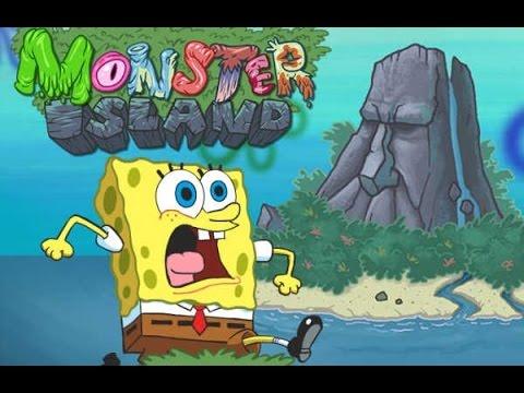 spongebob squarepants monster island