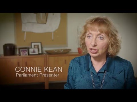 Connie Kean on Peace - Presenter at the Parliament of the World