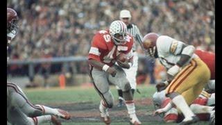 1974 Rose Bowl USC vs Ohio State 2nd half