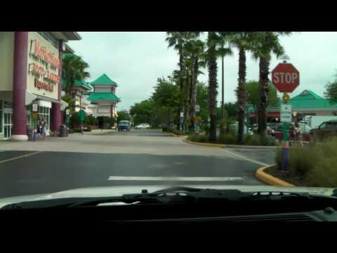 Driving to US 192 supermarket near Disneyworld Florida