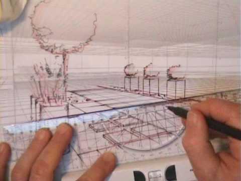 Gartengestaltung gartenplanung zeichnen live youtube - Garten zeichnen ...