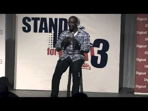 "MIKE YARD ""Haitian Arab"" @Stand Up for Haiti 3"