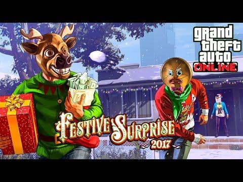 Gta 5 Christmas.Gta 5 Christmas Update Gta 5 Festive Surprise 2017 Dlc Update