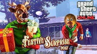 GTA 5 CHRISTMAS UPDATE!! (GTA 5 FESTIVE SURPRISE 2017 DLC UPDATE)