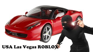 How to GTA a car in USA Las Vegas ROBLOX