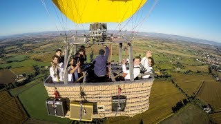 """GoPro Awards: Charlie and the Soap Opera - """"Alright"""" - Hot Air Balloon Music Video"""