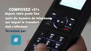 Tuto 4- Ligne fixe Ciel Telecom- Transfert d'appel