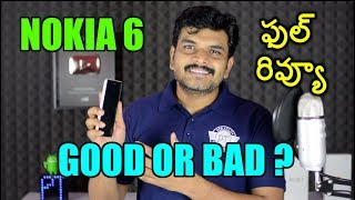 Nokia 6 Review With Pros amp Cons ll in telugu ll