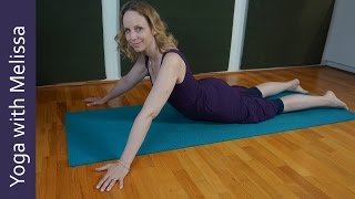How to Balance in Dancer Pose, Yoga with Melissa 364