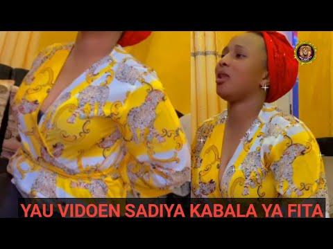 Download Inna lillahi wa inna ilaihi Raji'un Videon Tsiraicin Jaruma Sadiya Kabala ya fita