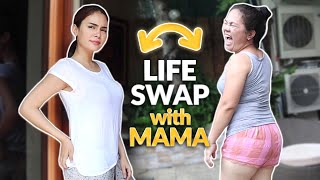 LIFE SWAP WITH MAMA! | IVANA ALAWI