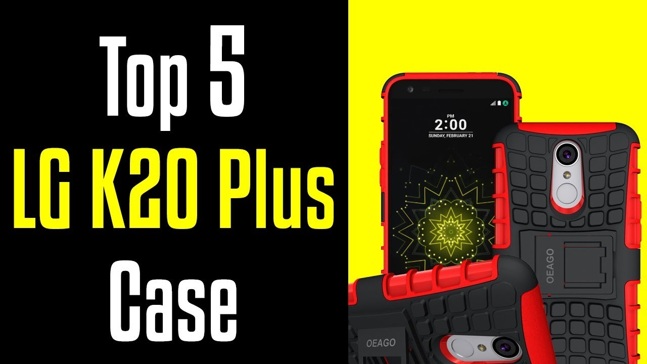 newest ff5ad 3a389 🔻Top 5 Best LG K20 Plus Cases!🔺[4K]
