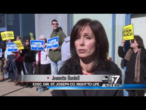 South Bend WBND: Pro-life Activists Gather to Urge Sen. Donnelly to #ConfirmGorsuch