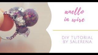 DIY #9 : anello con filo metallico (wire)