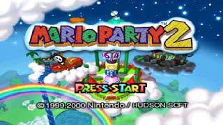 Mario Party 2 (N64) - Main Story Longplay