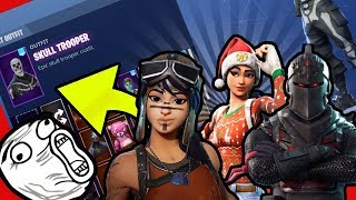 MY SKINS, PICKAES, EMOTES! Detail! * SHOCK *-(Fortnite Battle Royale)