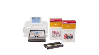 Canon Selphy CP1300 Wireless Photo Printer w/Ink 167 S...