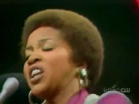 The Staple Singers - 2-Song Medley (Soul Train 1974)
