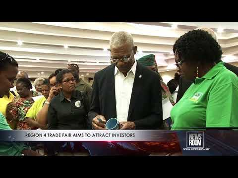 REGION 4 TRADE FAIR AIMS TO ATTRACT INVESTORS