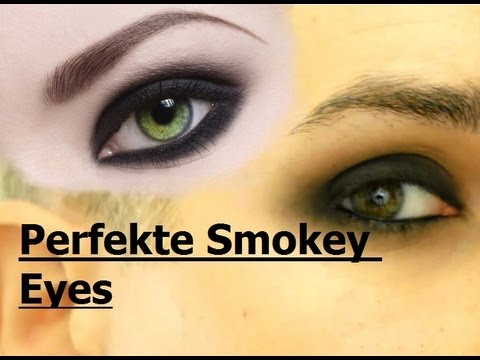 Perfekte Klassische Smokey Eyes