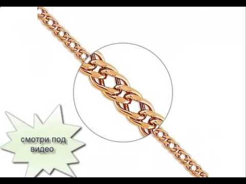 Дутые золотые цепочки