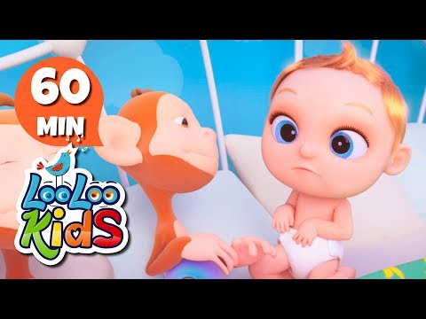 Ten in a Bed - Educational Songs for Children | LooLoo Kids