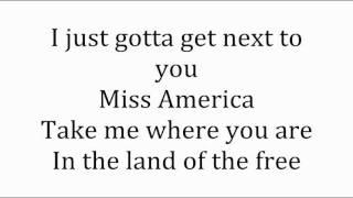 Nick Carter - Miss America (Lyrics on Screen)