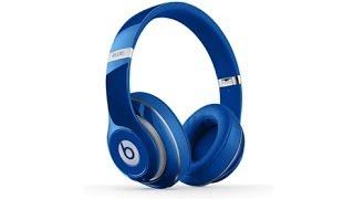 Наушники Beats Studio Wireless синие