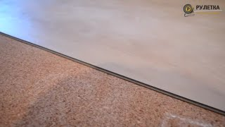 Кварц-виниловая плитка EcoClick (укладка ламината)