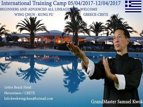 Wing Chun International Training Camp 2017