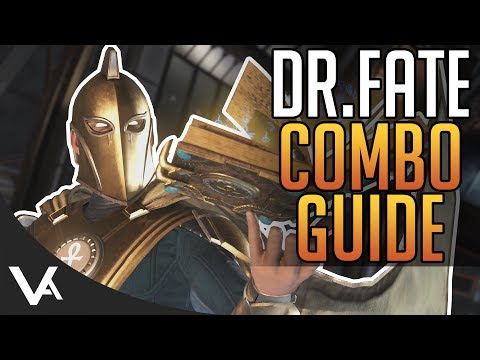 Injustice 2 - Doctor Fate Combos! Easy Combo Guide For Beginners In Injustice 2