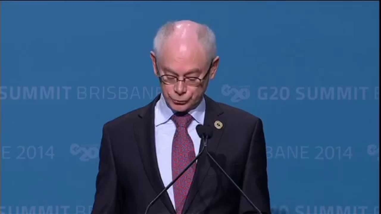 G20 Summit 2014 - Extract on Ukraine
