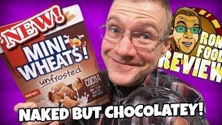 NEW!! KELLOGGS MINI WHEATS UNFROSTED COCOA!! REVIEW PREVIEW!