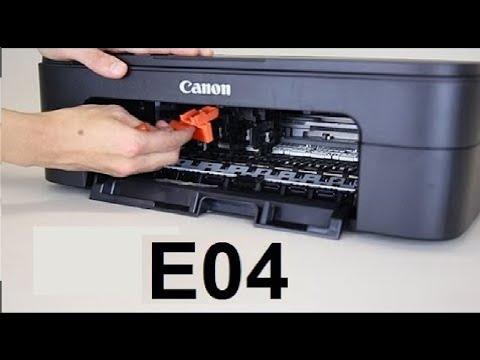 Download أصلاح عطل Canon Pixma E04   طابعات كانون   اللمبة البرتقالي   لمبة الاعطال