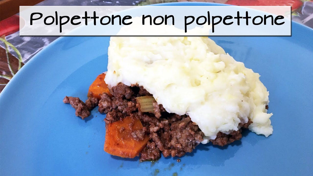 POLPETTONE NON POLPETTONE SAPORITO E DELIZIOSO