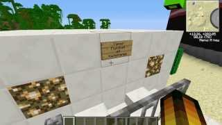Let's Show Minecraft Piston House Dose Part 3