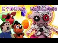 Five Nights at Freddy's CYBORG BALLORA Attacks EASTER! FNAF Plush Funko Egg Basket Fur Babies