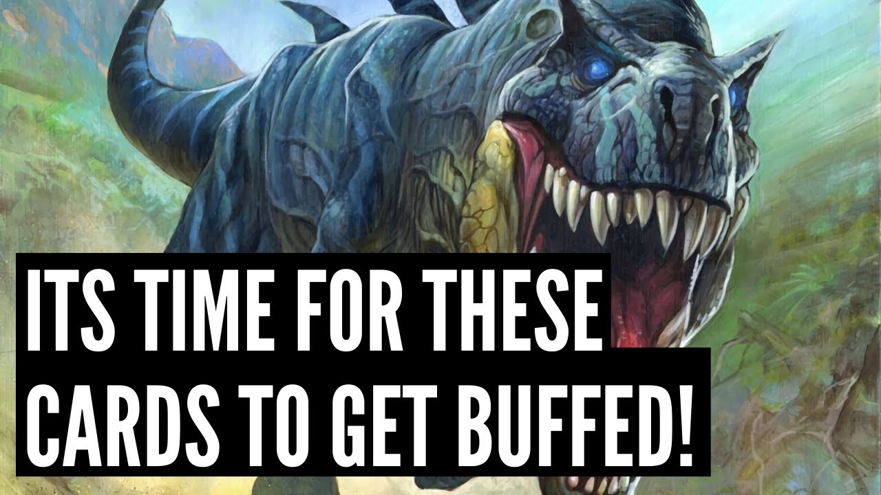Top 10 Cards that should get BUFFED right now!