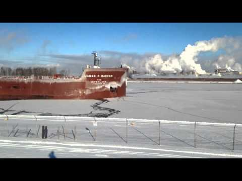 Great Lakes Freighter James R Barker