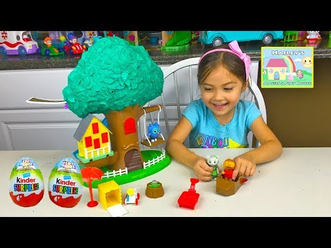 Big Daniel Tiger Treehouse & Toy Surprise Eggs and Kids Playing Space Adventure Toys Review