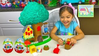 BIG DANIEL TIGER TREEHOUSE TOY Surprise Eggs Space Adventure Kids Playing Surprise Toys Opening