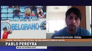 Belgrano   Pablo Pereyra, las ecuelitas y el recreativo en El Show En La Red 05 10 2020