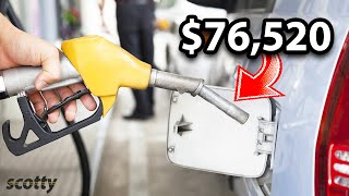 Americans Have No Idea How Much Money They Waste on Gasoline
